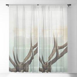 Antlers Sheer Curtain