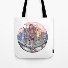 42 Building  Tote Bag