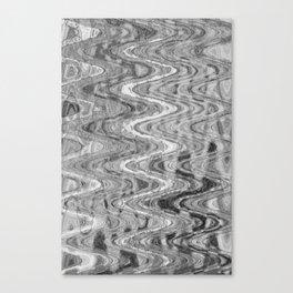 Waves Ash Canvas Print
