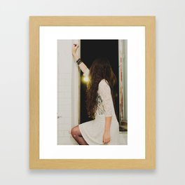 Look out. Framed Art Print