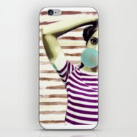 bubble iPhone & iPod Skins featuring Bubble by Mi Nu Ra