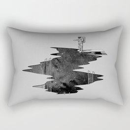 Space Diving Rectangular Pillow