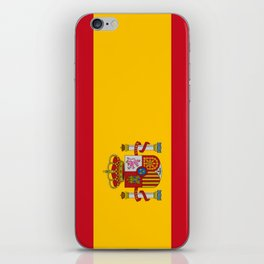 Flag of spain-spain,flag,flag of spain,espana,spanish,espanol,Castellano,Madrid,Barcelona, iPhone Skin