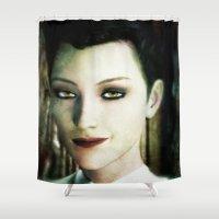 sandman Shower Curtains featuring Desire by Anastase Kyriakos