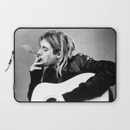 Kurt Co-bain Posters Print, Famous Legend Singer Nirvana Rock Band, Music Laptop Sleeve