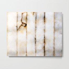 Weathered Alabaster (vertical) Metal Print