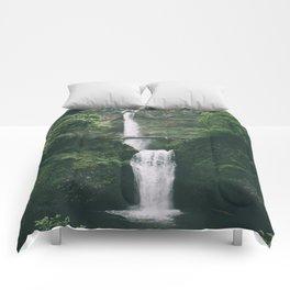 Multnomah Falls III Comforters