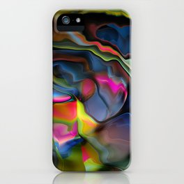 Liquid Colors by Artist McKenzie http://www.McKenzieArtStudio.com iPhone Case