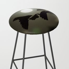 By the light of the full moon Bar Stool