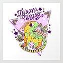 Iguana be a star by betsyamparan