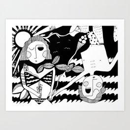 Sun Fuck Art Print