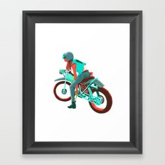 Switchblade Framed Art Print