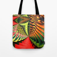 brasil Tote Bags featuring Brasil by Lyle Hatch