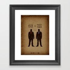 Breaking Bad - No Mas Framed Art Print