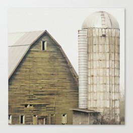 Storybook Barn Canvas Print