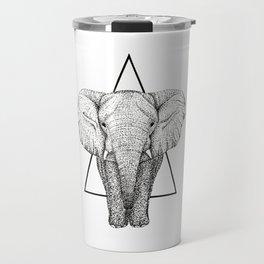 Wisdom Elephant Travel Mug