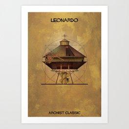02_Leonardo_Archistclassic Art Print