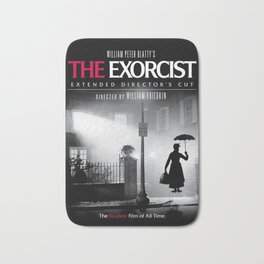 Mary Poppins in the Exorcist Bath Mat