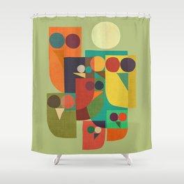 Owl squad Shower Curtain