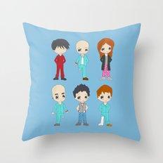 MiniPolseres 1a temporada Throw Pillow