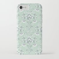 damask iPhone & iPod Cases featuring Damask... by Catherine Ann Lewis