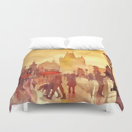 Charles Bridge Duvet Cover