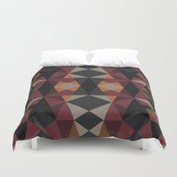 mirror Duvet Covers featuring Mirror by Leandro Pita