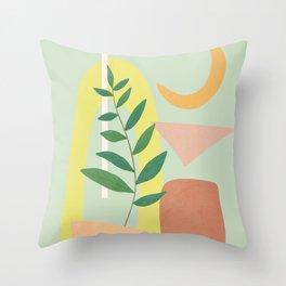 Partially Abstract 2 Throw Pillow