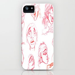 Women Expressions iPhone Case