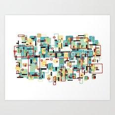 Mod Art Print