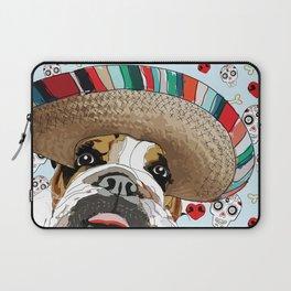 Cinco de Bulldog Laptop Sleeve