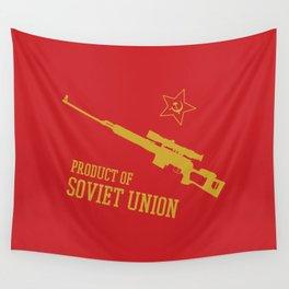 Dragunov SVD (Product of SOVIET UNION) Wall Tapestry