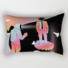 Coexistentiality 2 (A Passing View) Rectangular Pillow