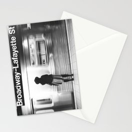 New York MTA Subway Stationery Cards