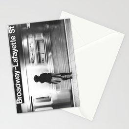 New York MTA Subway Stationery Cards