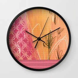 Wild Rapture Wall Clock