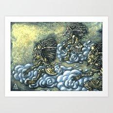 Sky Riders Art Print