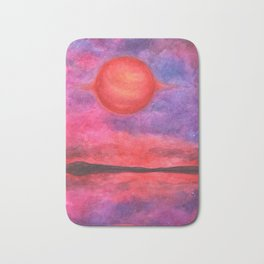 "A Watercolor Illustration Called ""The Brown Dwarf"" Bath Mat"