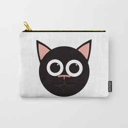 Blackie Cat Carry-All Pouch