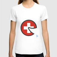 switzerland T-shirts featuring Switzerland Smile by onejyoo