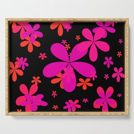 Flower Power 2 Serving Tray