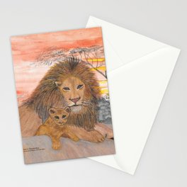 A Father's Love Stationery Cards