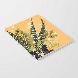 Black Vase I Notebook