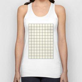 simple grid Unisex Tank Top