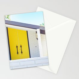 Yellow Door, Palm Springs Stationery Cards