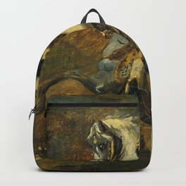 Theodore Gericault - Officer of the Chasseurs of the Imperial Horse Guards Backpack