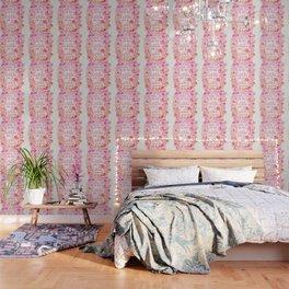 Little & Fierce – Pink Ombré Wallpaper