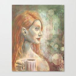 Winter - Mint Canvas Print