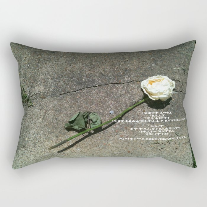 I like it, You don't, Who Cares Rectangular Pillow