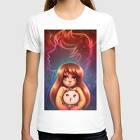 puppycat T-shirts featuring Bee and Puppycat by Dani Taillefer